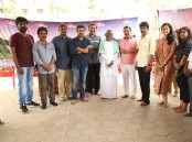 Naachiyaar movie pooja event held today in Chennai on March 1, 2017. Celebs like Suriya, Jyothika, Bala and others graced the event.