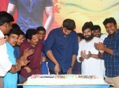 South Indian actor Varun Tej celebrates Ram Charan birthday in Hyderabad.