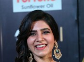 South Indian actress Samantha spotted at IIFA Utsavam Awards 2017 Green Carpet.