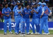 Indian Cricket Team During ICC Champions Trophy 2013.