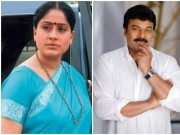 Chiranjeevi and Vijayashanthi