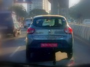 Renault Kwid 1000cc with AMT spotted testing