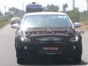 New Hyundai Elantra sedan spied testing in India