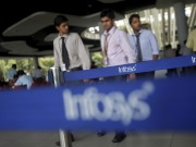 Infosys employees