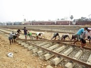 railways indian department rail network tracks lines expansion project acquisition land suresh prabhu railway board modi pm narendra damodardas