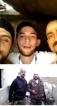 At least four LA gang members may be fighting for Assad in Syria/Picture collage-Videograb