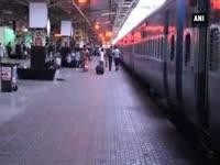 Threat of cyclone Hudhud halts train services in eastern coast