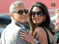 Amal Alamuddin is now officially Mrs Amal Alamuddin Clooney