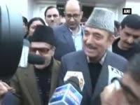 Ghulam Nabi Azad files nomination papers for Rajya Sabha in Jammu