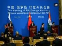 India, China and Russia hold key trilateral talks to deepen cooperation