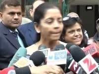 Nirmala Sitharaman meets Kiran Bedi, says BJP hopeful of victory
