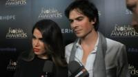 Ian Somerhalder and Nikki Reed on the red carpet