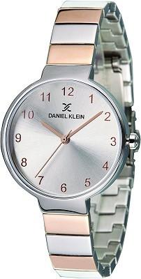 Daniel Klein Analog Silver Dial Watch