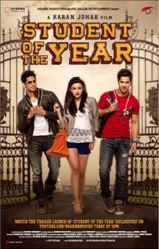 'Student Of the Year' film poster; Courtesy: Karan Jhoar