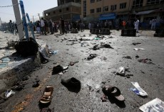 IS claims responsibility for Kabul blasts that kill 61