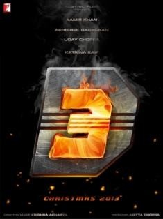 """""""Dhoom 3"""" poster"""