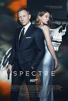 James Bond,James Bond 007,James Bond's Spectre Movie Poster,Spectre Movie Poster,Spectre Poster,Spectre first look poster,Spectre first look,Daniel Craig,Christoph Waltz,Lea Seydoux,Sam Mendes