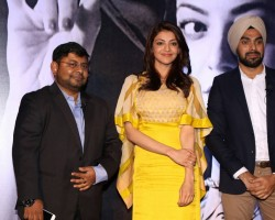 """Actress Kajal Aggarwal, who has launched her own mobile app, says she isn't abreast with technology. """"I am a bit of technologically challenged. So, this app is like a 'one-click' and more convenient to me,"""" Kajal told the media here on Saturday."""