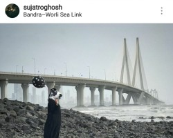 "A ""cow mask"" photography series uploaded on Instagram by 24-year-old photographer Sujatro Ghosh recently took the Internet by storm. Shot entirely on a mobile phone, the series features a woman wearing a cow mask posing at different iconic landmarks in India. Ghosh said he wanted to highlight ""women's safety is a more serious concern than cow vigilantism"", using the mask as a metaphor. Mounting it in an art gallery would have restricted its reach. ""I never wanted to showcase my photography within four walls,"" Ghosh, who now has more than 25,000 followers on social media, told IANS. ""There is no doubt that Instagram has helped me to reach out to a much larger audience, making my project successful,"" he added. It is not just Ghosh, but many other artists who are opting for Instagram to convey their stories -- whether it's raising awareness about contemporary social issues or glorifying the beauty of Indian Railways."