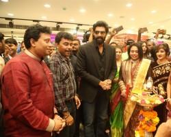 Rana Daggubati, Vijay Devarakonda & Anu Emmanuel launches KLM fashion mall at Ameerpet, Hyderabad.