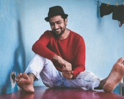 Actor Vicky Kaushal latest pics.