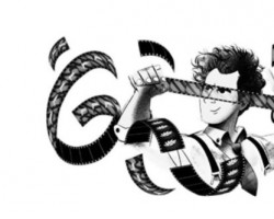 "The doodle shows a series of film rolls in movement depicting iconic imagery in some of Eisenstein's films. It is a reminder of his enduring contributions to cinema. A closer look into the doodle shows sequencing of a number of images in a continuous loop creating the effect of a montage. The doodle also shows Sergei Eisenstein, holding a film roll and a scissors depicting a cut or an edit. The Russian genius changed the way films were made as early as in the 1920s. The avant-garde filmmaker was born on this day in 1898. He left behind a rich legacy that is complex and in many ways, immeasurable. Film montage is an editing technique that pieces together a series of frames to form a continuous sequence that is used at several defining moments in films -- you can easily recall some of it in ""The Godfather"", ""The Karate Kid"", that was refined in the early 20th century by the Soviet director."