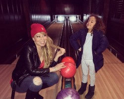 "Singer Mariah Carey went bowling with her six-year-old son Moroccan. She took to social media to share a photograph of their experience at the bowling alley. ""Bowling with that boy,"" Carey captioned the image on her Instagram account, reports femalefirst.co.uk."