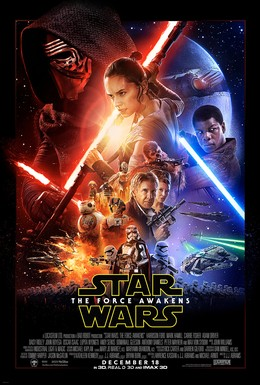 Star Wars: The Force Awakens Theatrical Poster