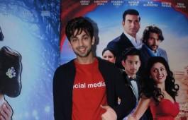 Photos of Bollywood movie Jeena Isi Ka Naam Hai promotion.