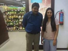 Ramya Returns to Bangalore