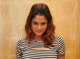 South Indian Actress Shilpa Chakravarthy at Upendra 2 Audio Launch.