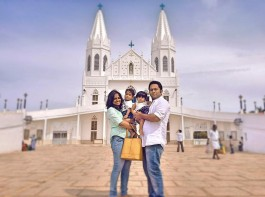 Aju Varghese's kids Evan and Juana turned one-year-old on Wednesday, 28 October.