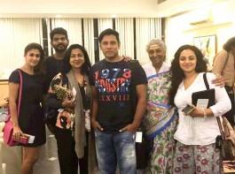 Celebs like Anirudh Ravichander, Pranitha Subhash, Hansika Motwani, Khush Sundar, Vedhika, Shruti Sodhi, Pragya Jaiswal, Shubra Aiyappa, Sayyeshaa, Amyra Dastur, Devi Sri Prasad, Ali, Usha Uthup arrive Singapore for SIIMA Awards 2016 event.