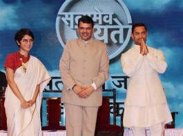 Bolywood actor Aamir Khan at Satyamev Jayate Water Cup awards 2016.