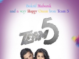 Team 5 is an upcoming Malayalam movie directed by Suresh Govind and Produced by Raj Zacharias. The film stars S Sreesanth, Actress Nikki Galrani, Makarand Deshpande in the lead role. The songs and background score for the film are composed by Gopi Sunder.