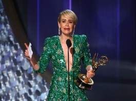 Memorable moments at the Emmys as Veep and Game of Thrones take home awards.