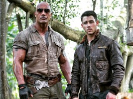 Actor Dwayne Johnson has introduced Nick Jonas as his latest co-star on the set of