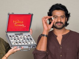 Actor Prabhas the loved super star all over the place has been given a special place in the Tussauds museum in Bangkok.