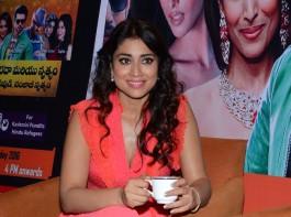 South Indian Actress Shriya Saran at Republic Hindu Coalition (RHC) Charity Concert Press Meet.