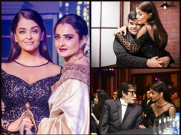 Photos of Bollywood actress Aishwarya Rai Bachchan at Absolut Elyx Filmfare Glamour And Style Awards.