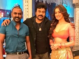 South Indian Actress Raai Laxmi (Lakshmi Rai) releases her look for the item song of upcoming movie Khaidi No 150 starring Megastar Chiranjeevi in the lead role.