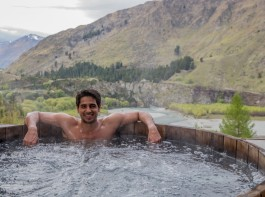 Sidharth Malhotra, who is currently busy shooting for his next film with Jacqueline Fernandez, is set to fly to New Zealand for a quick gateway. The actor says that this will be his time-off from the busy schedule.