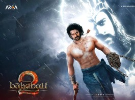 As a pre birthday gift, makers of Baahubali have unveiled the First Look of Baahubali as a gift to lead actor Prabhas. The first look, a motion poster of the much awaited sequel to Baahubali features Prabhas in a fierce avatar. Also, a unique five minute VR experience of being on the sets of the film was showcased to the audience with the help of a headgear.