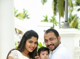 South Indian actress Muktha delivered a baby girl on July 18, 2016. After sharing the photos of the newborn on her Facebook page on August 6, the actress has now shared the pics of the baby's baptism ceremony.
