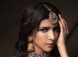 Tollywood actress Lakshmi Manchu's Diwali Photoshoot.