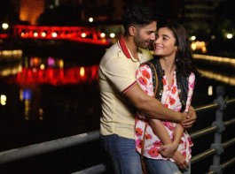Actors Alia Bhatt and Varun Dhawan are shooting a schedule for their upcoming film