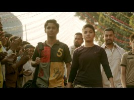 After Haanikaarak Bapu's fantastic reception, the makers of Dangal have released their second song titled Dhaakad and the song is all about woman power. Dhaakad means powerful, potential and the makers want to dedicate this song to the daughters of India. The song, showcases the young girls wrestling with heavily built men, winning a victory over them with immense ease. The first line being
