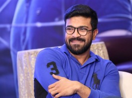 Photos of Actor Ram Charan during the press conference of telugu film Dhruva in Hyderabad on 07 Dec 2016.