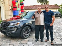 Actor Dwayne Johnson has bought a car for his father Rocky Johnson. Dwayne took to Instagram on Friday to share a photograph of him, his father and a Subaru. He expressed his gratitude to his father in a lengthy caption that described some of the sacrifices Rocky has made for his son.