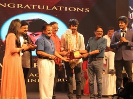 MGR-Sivaji Academy Film Awards event held in Chennai. Celebs like Sivakarthikeyan, Prabhu, Sivakumar, Bharathiraja, Dhananjayan Govind and others spotted during the event.
